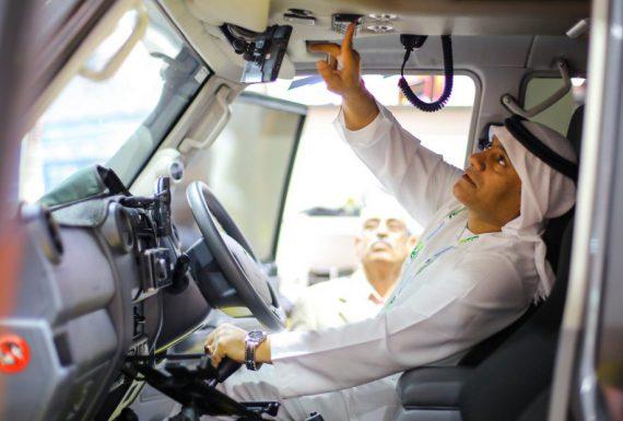 Autopeças brasileiras estão em feira de Dubai