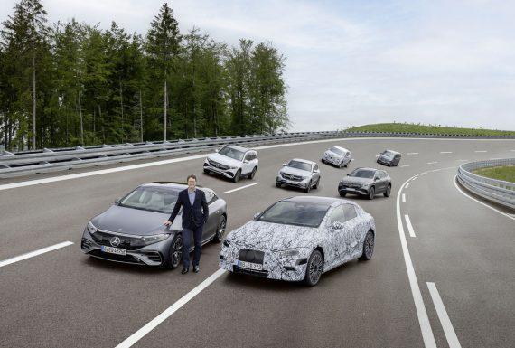 Mercedez-Bens vai produzir apenas carros elétricos a partir de 2025