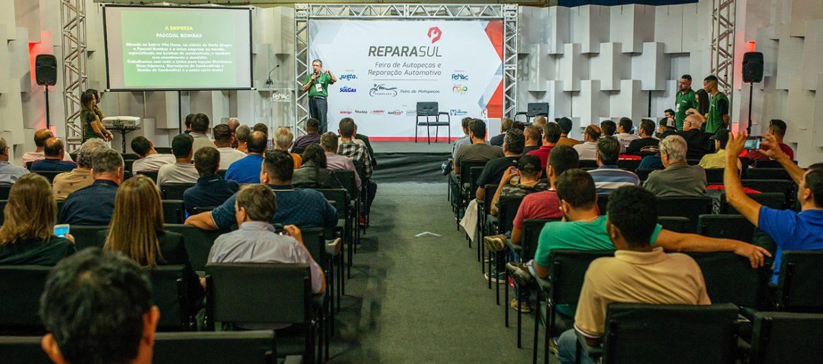 Reparasul promove palestras gratuitas durante os quatro dias de evento