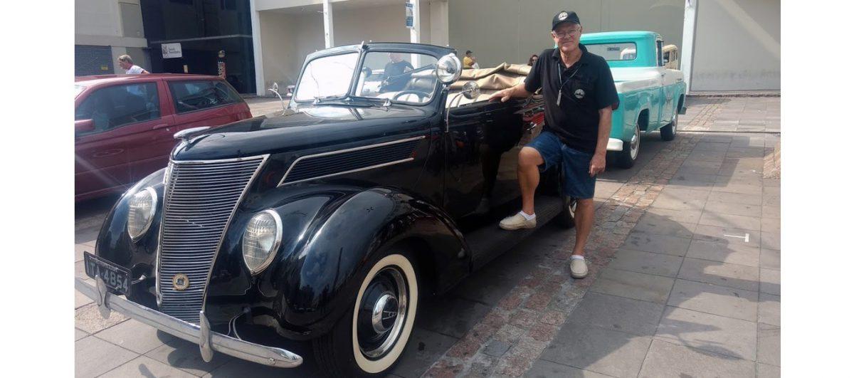 Lembranças e confraternização em mais um encontro dos antigomobilistas gaúchos