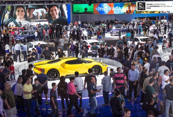 São Paulo sedia em novembro o 4º maior Salão do Automóvel do mundo