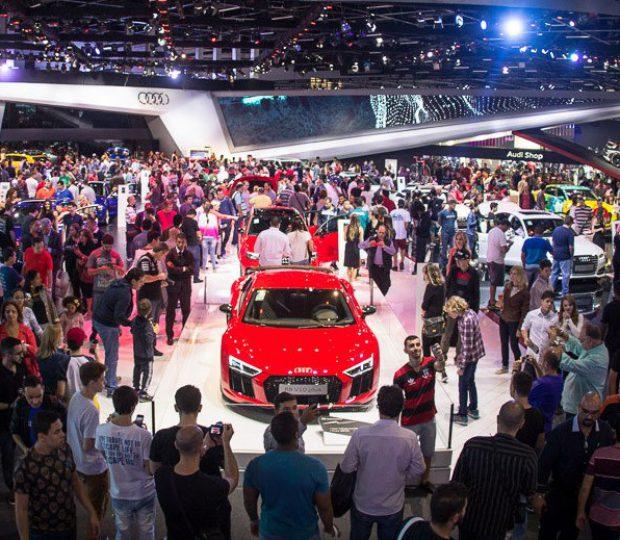 Salão do Automóvel de São Paulo abre suas portas a partir de hoje