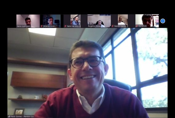 Executivo das Empresas Randon conversa com associados Asdap sobre impactos da Covid-19