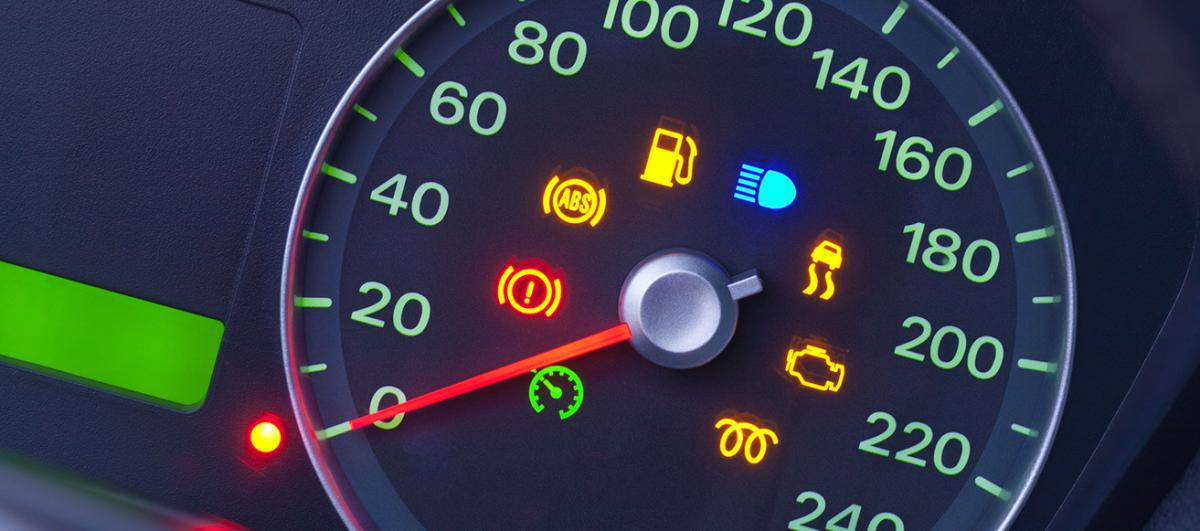Atenção às luzes indicativas do painel do carro!