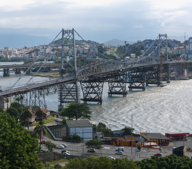 Ponte Hercílio Luz será reinaugurada em Florianópolis